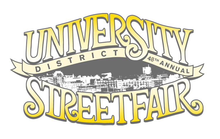 Celebrate the 48th Anniversary   of the longest running street fair in the US.     We will be bringing together the best in local  arts & crafts,   music     ,         and  food . So get ready for an amazing weekend at the U District Streetfair!         Saturday May 20th, 10-7, Sunday 10-6
