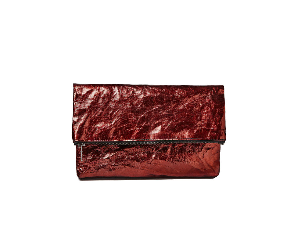 Folded clutch ruby