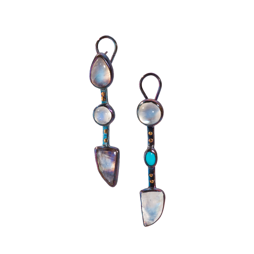 Aduaria & Turquoise Patinated Omega Studs - 15.png
