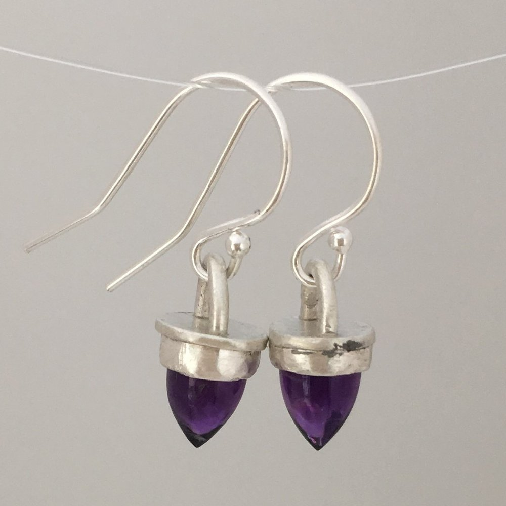 Amethyst Mini Bullet Earrings.JPG