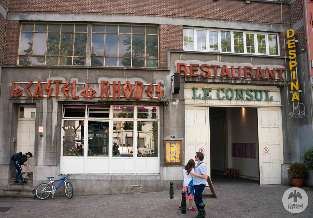 Brussels lesbian bar