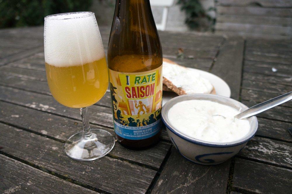 brussels beer food pairing pottekeis