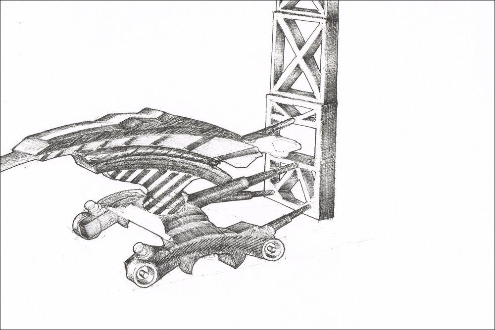 Designing  forklift