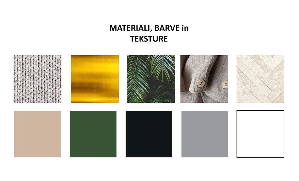 Barvna karta - notranje oblikovanje