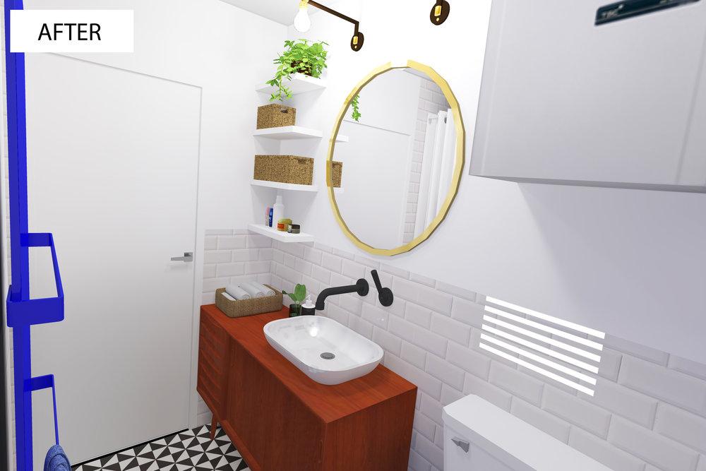 Prenova kopalnice - notranje oblikovanje