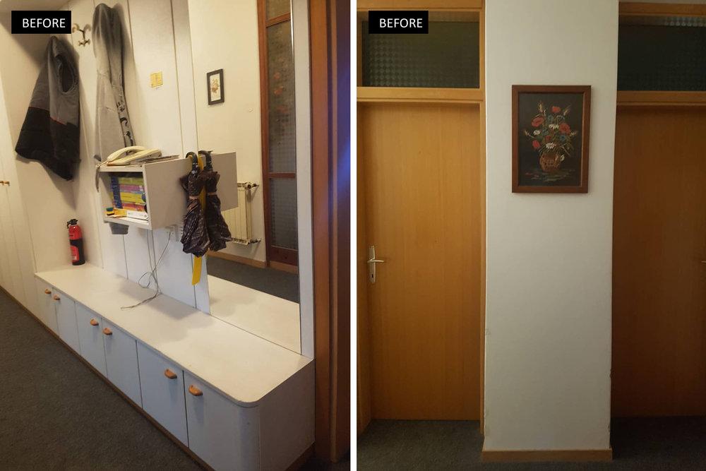 Before & After, Poke studio, notranje oblikovanje