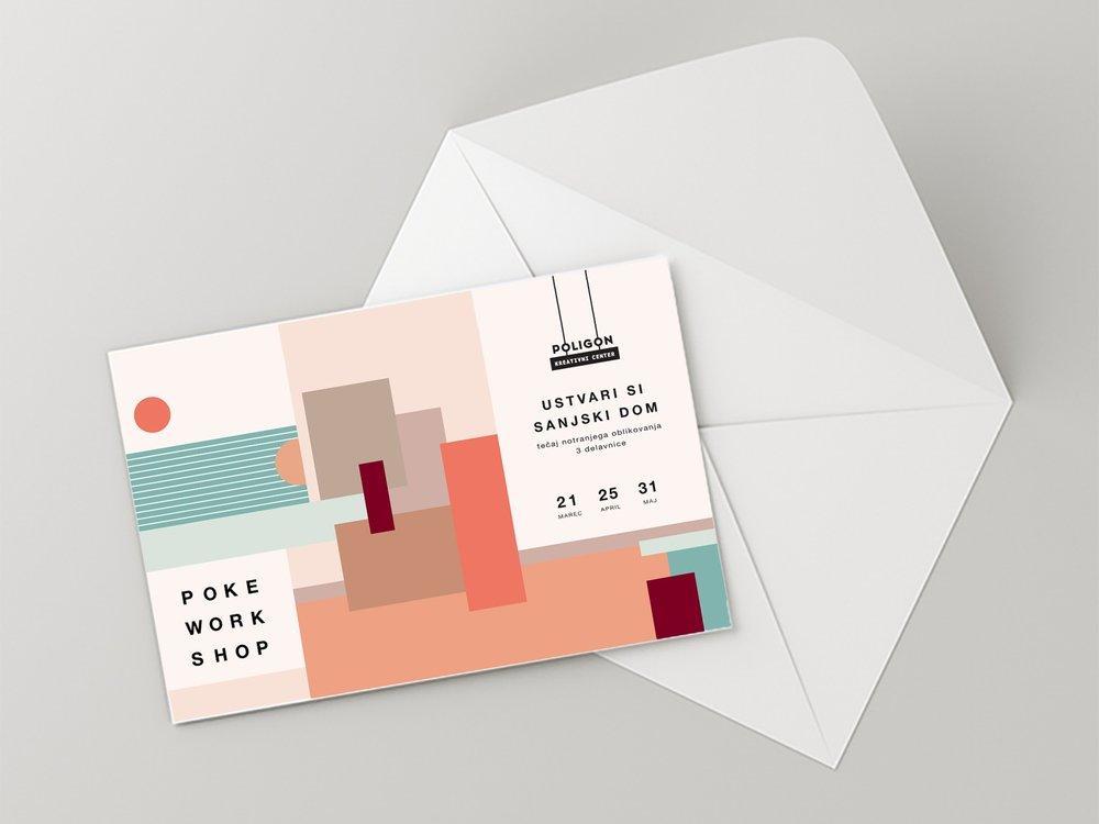 POKE WORKSHOP - graphic identity