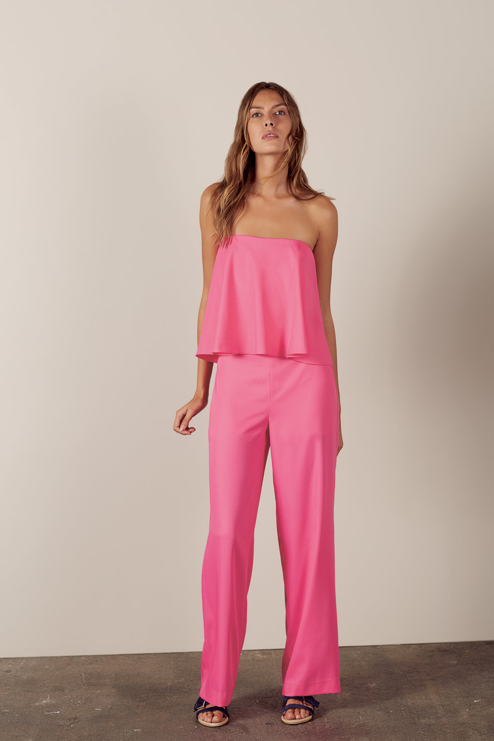 Mint Velvet Ruffle Layer Jumpsuit €249