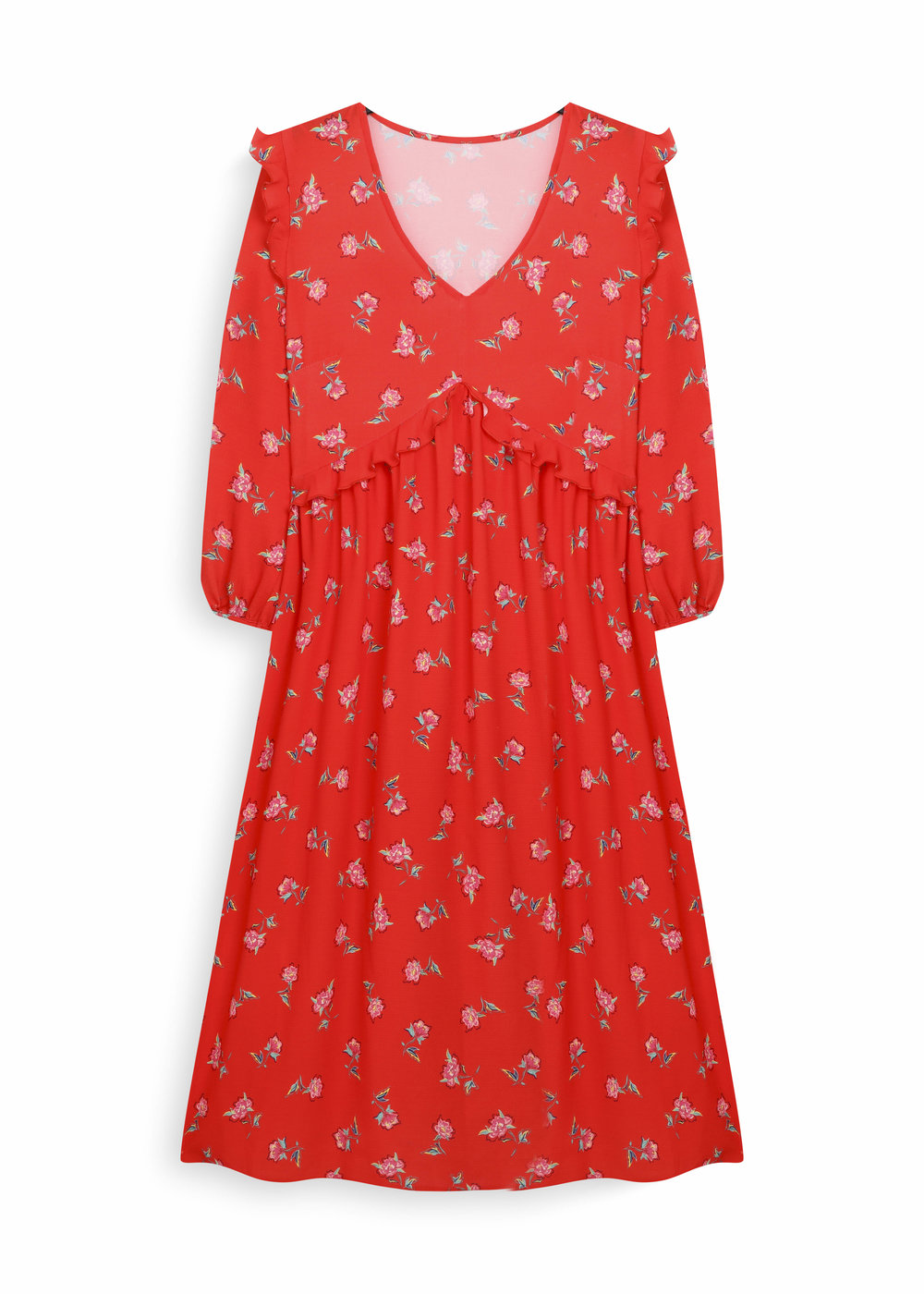 Print dress 16