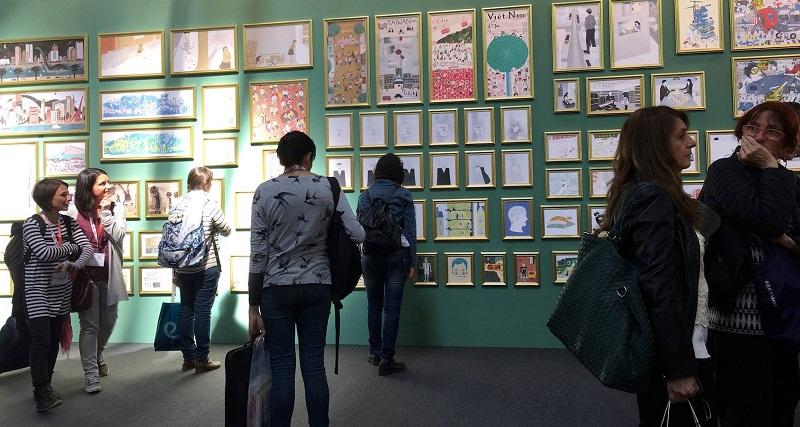 圖說:台灣繪本美術館安靜自在的氛圍
