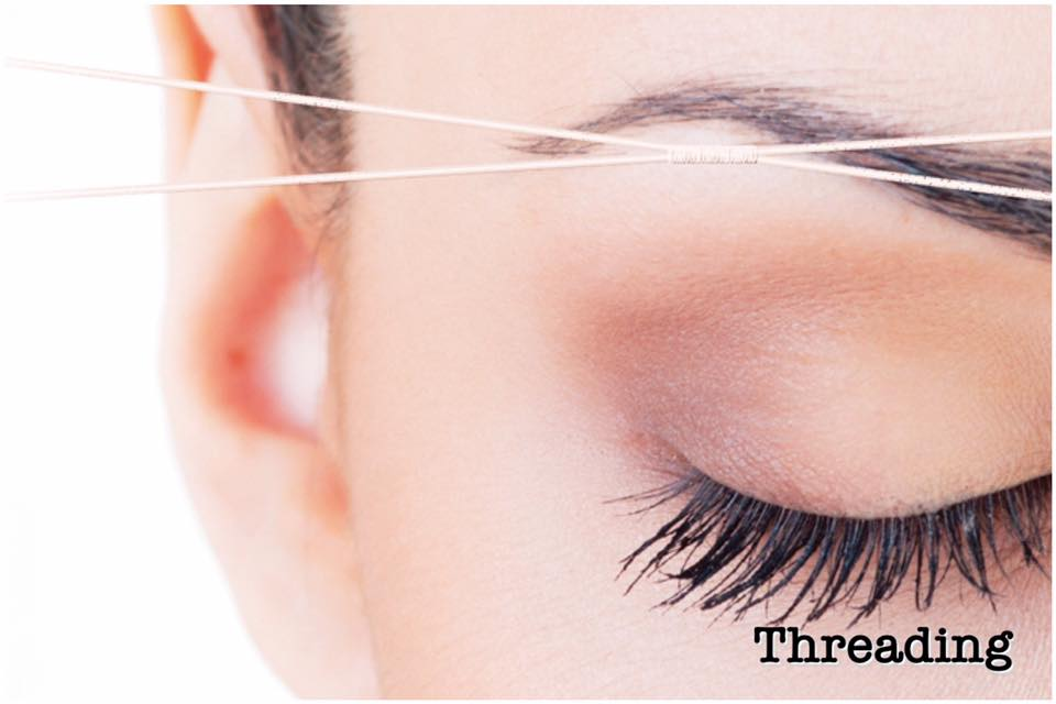 Threading Including Brows Upper Lip Chin And Facial At Our Beauty