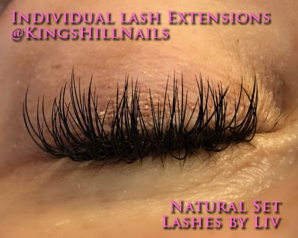 74bea29c288 At Kings Hill Nails Beauty Lounge we offer a variety of lash services to  suit everyone. For up to date photo's visit our Facebook or Instagram.