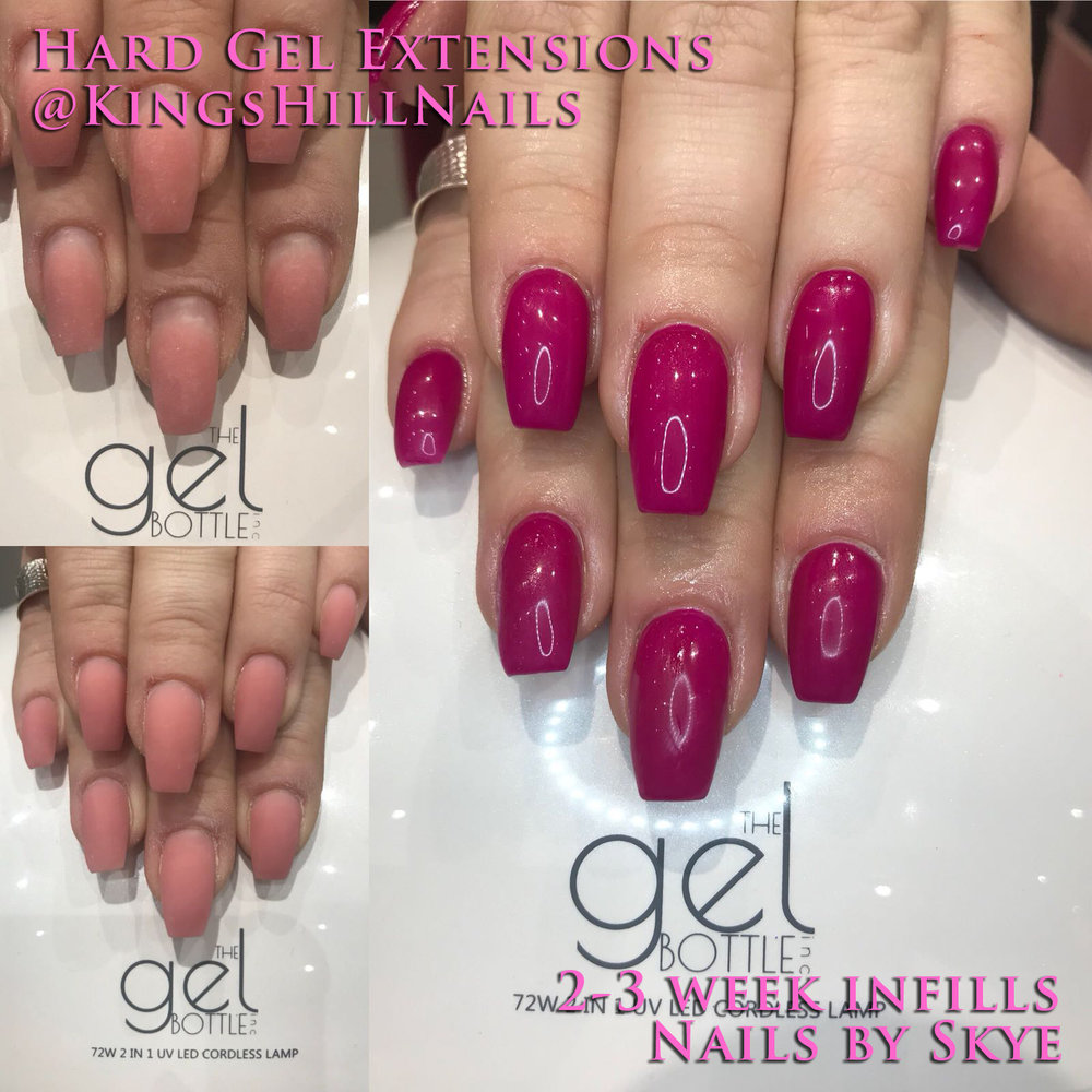 Hard Gel Extensions — Kings Hill Nails Beauty Lounge