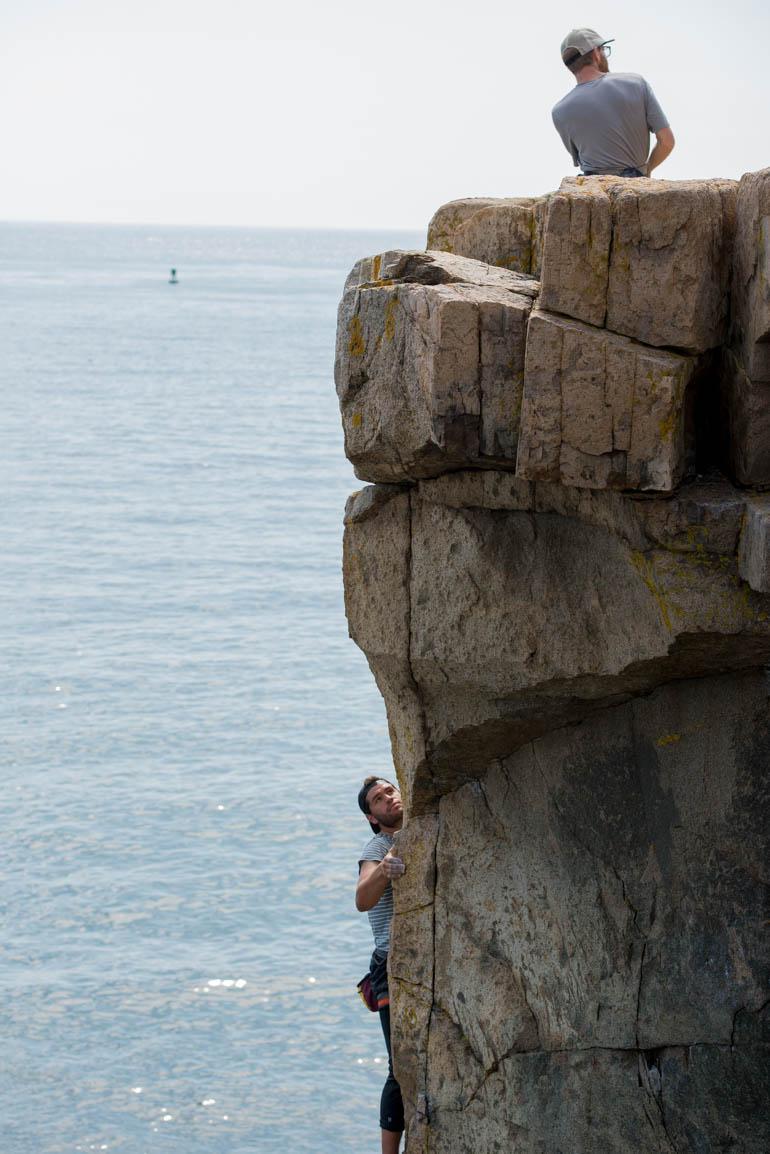 Acadia Climbing