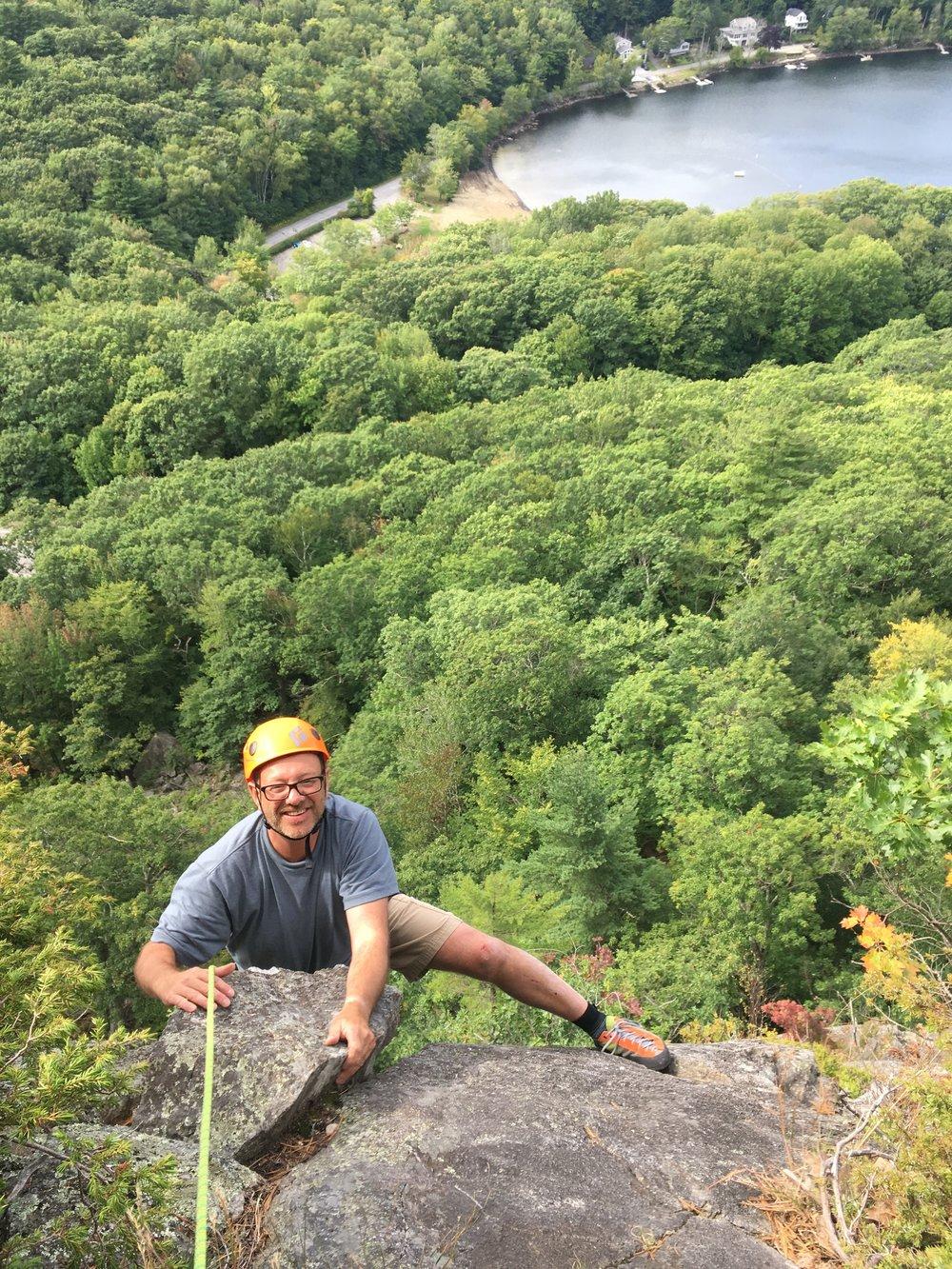 Camden Rock climbing