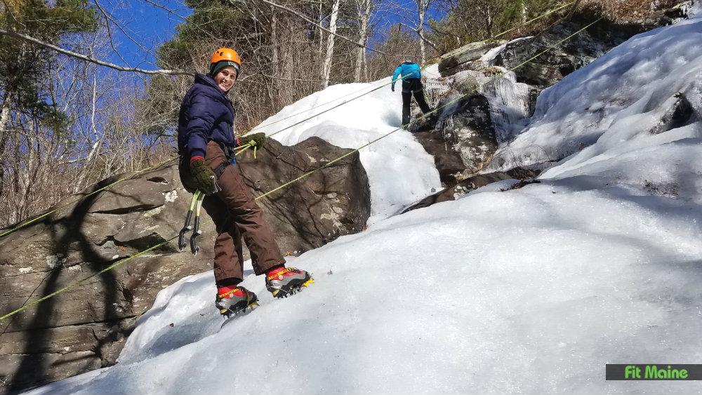 Fit Maine Ice Climbing
