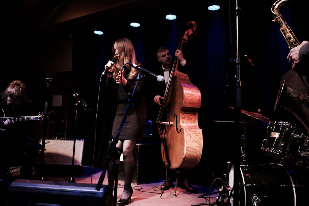 Ellen Andersson Quartet feat. Nisse Sandström  Crescendo, Norrköping
