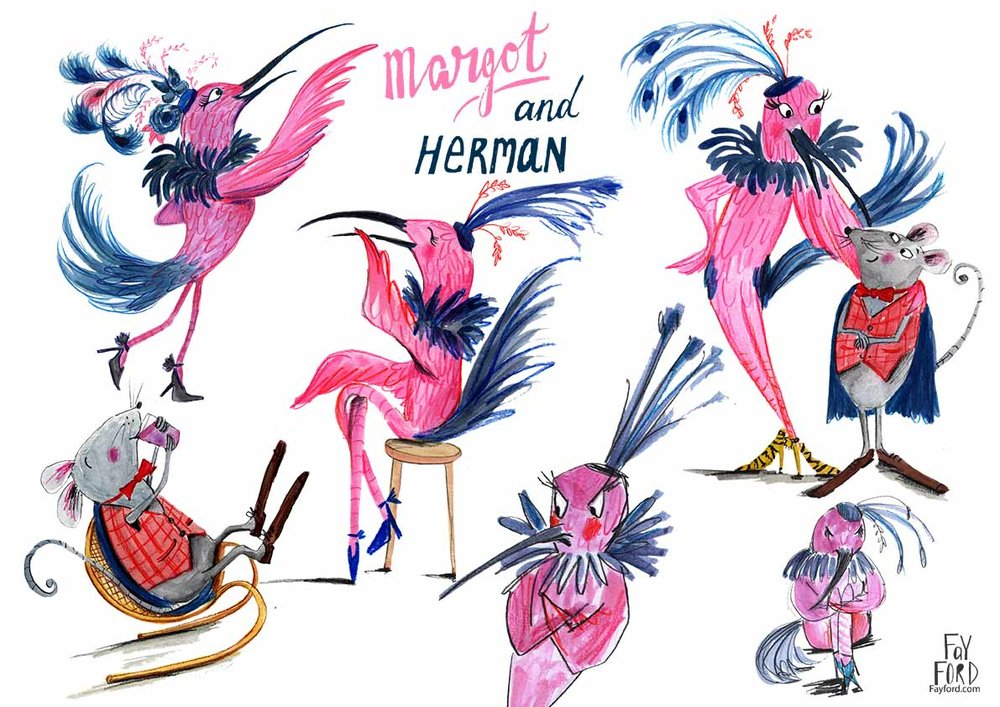 Margot and Herman
