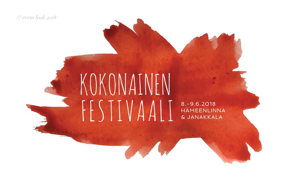 Kokonainen Festivaali logo 2018