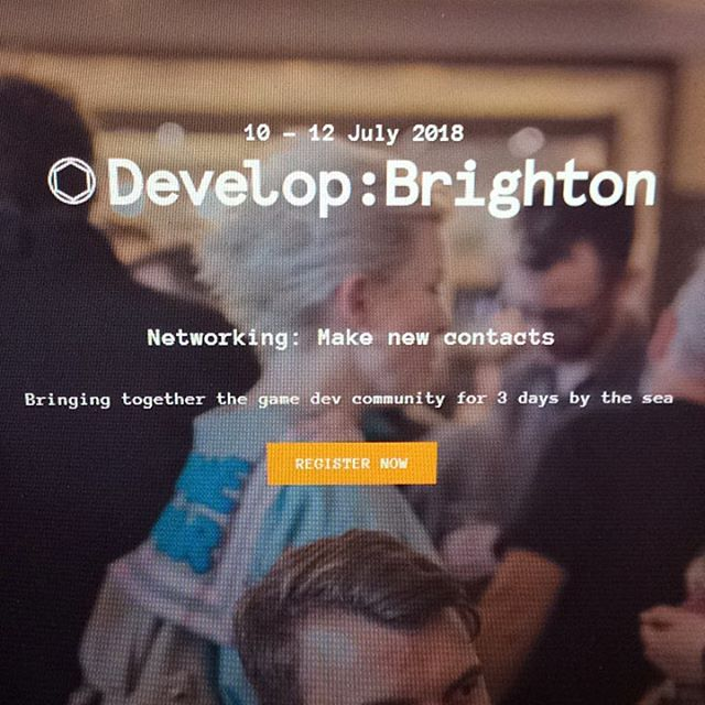 We are heading to develop next week! Looking forward to catching up with everyone. #DevelopConf