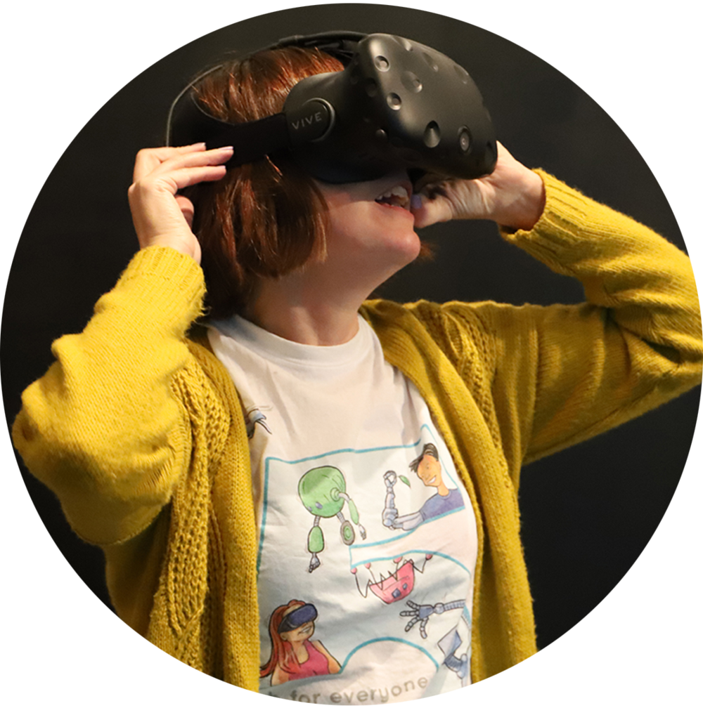 The VR CAVE @ Corsham Institute -