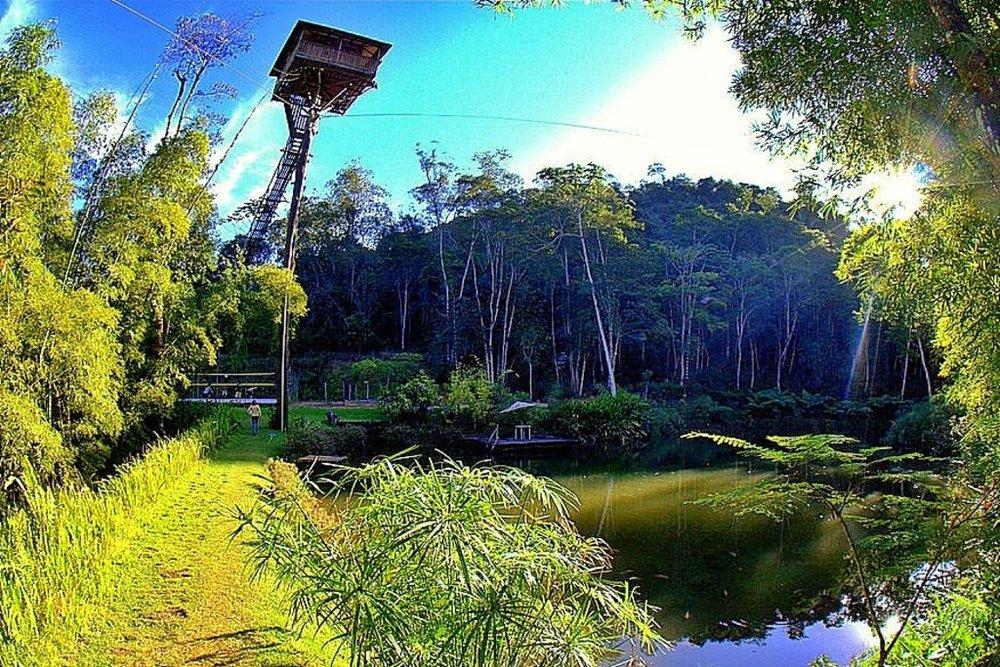 Lago do sitio Urtigao, Domingos Martins, ES