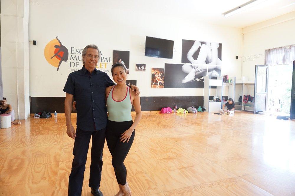 Director of ballet school: Hector Hernandez