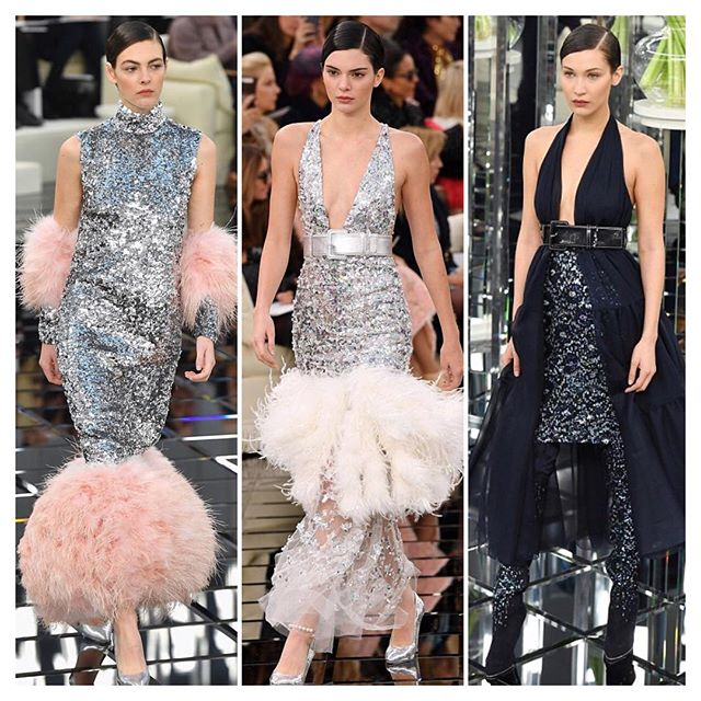 Chanel Couture show in Paris wow 💎💎