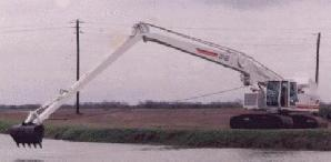 One-of-a-kind Long Reach Excavator (1992).