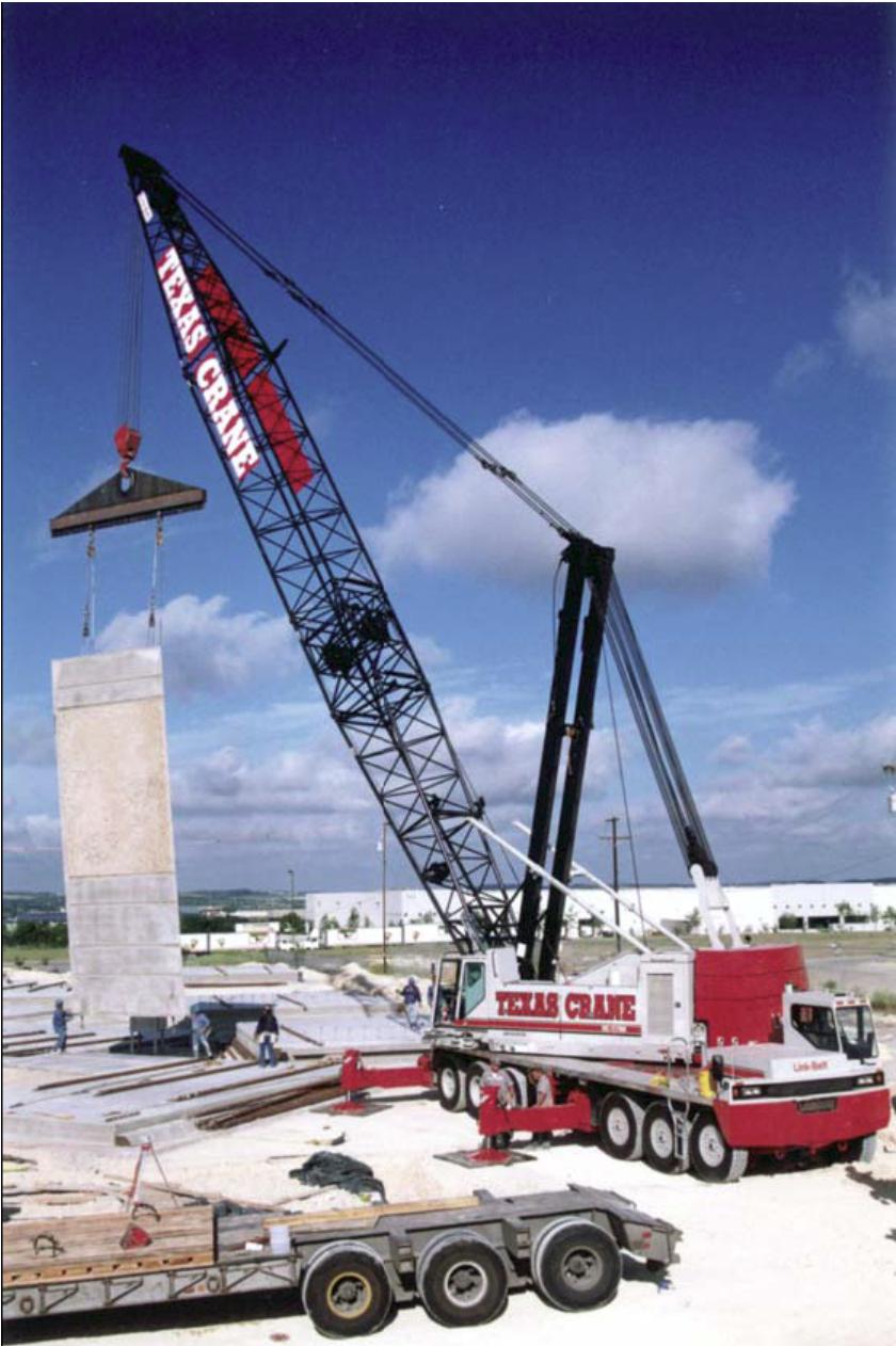 Largest Conventional Truck Crane (1998).