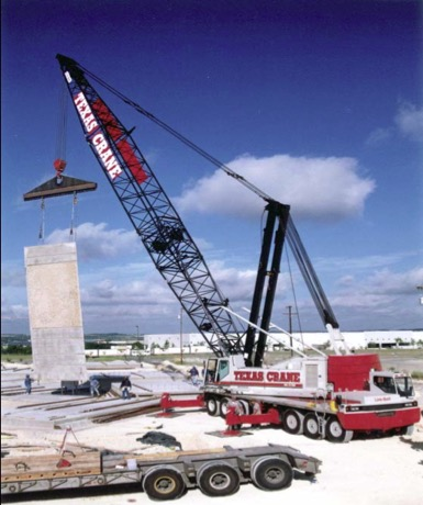 TRUCK-MOUNTED CONVENTIONAL TRUCK CRANE (Industry terminology- Conventional Truck Crane)