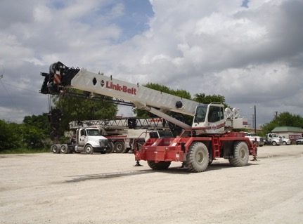 ROUGH TERRAIN CRANE   (Industry terminology- RT's or Cherry Pickers)
