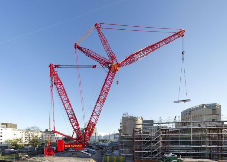 CONVENTIONAL BOOM CRAWLER CRANE (Industry terminology- Crawler)