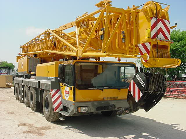 ALL-TERRAIN CRANE (Industry terminology- AT's)