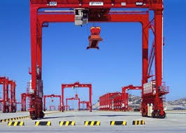 MOBILE CONTAINER CRANE  (Industry terminology- Gantry Crane)