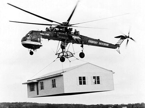 AERIAL CRANE (Industry Termonology: Sky Crane)