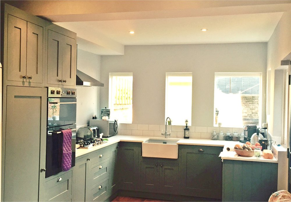 painter needed to repaint kitchen