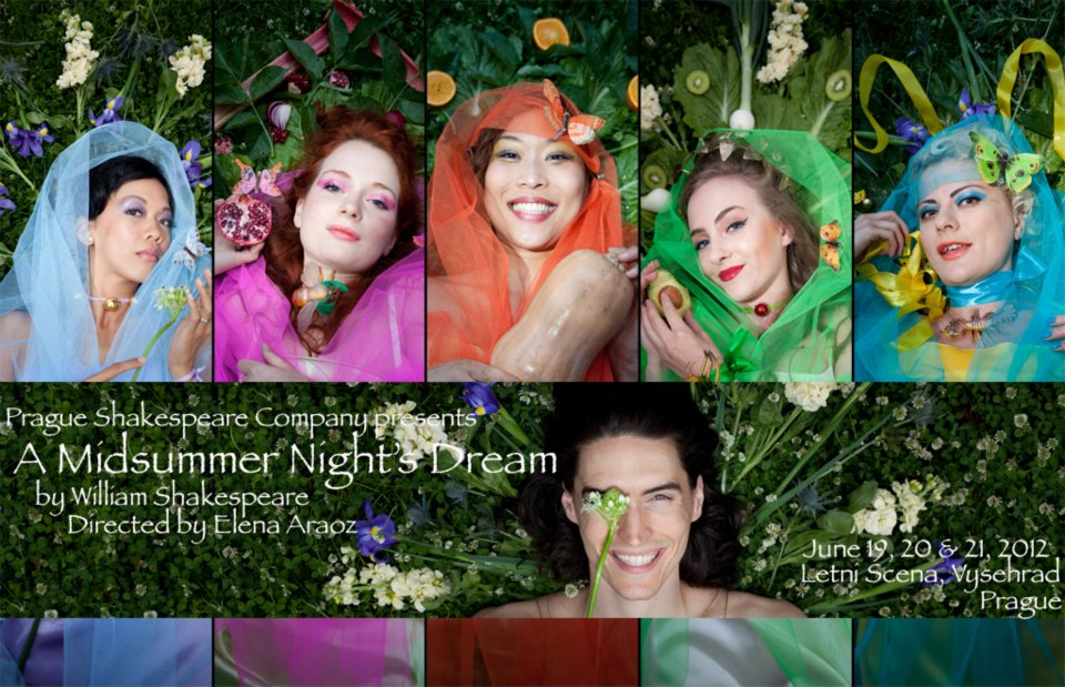 Prague Shakespeare Company - William Shakespeare: Midsummer Night's Dream (directed by Guy Roberts) - Fairy