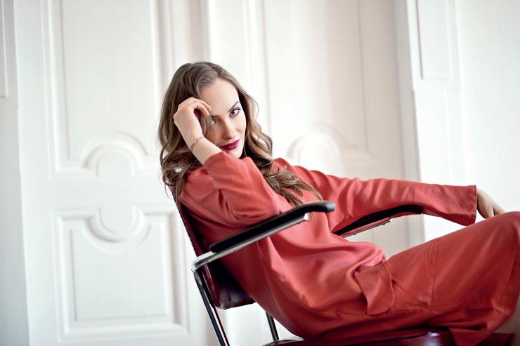 Elizaveta Maximová - OK! Magazine
