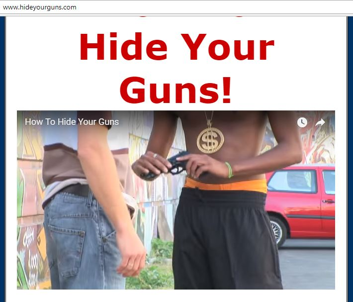 Hide Your Guns Dot Com