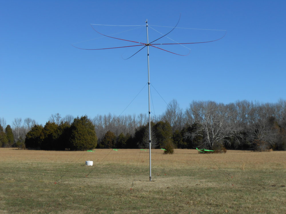 26' Hexbeam with Tilt Mount