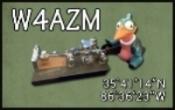 W4AZM QSL Card