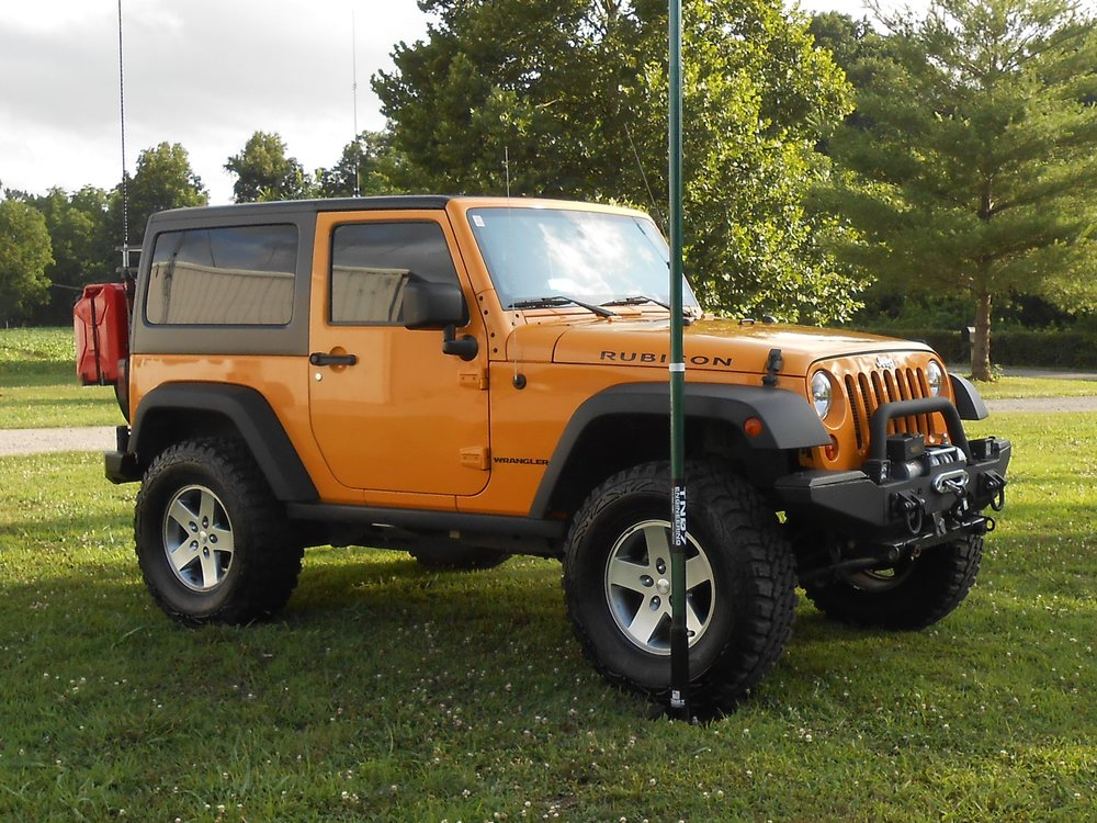 Yellow Jeep - drive on mount.JPG