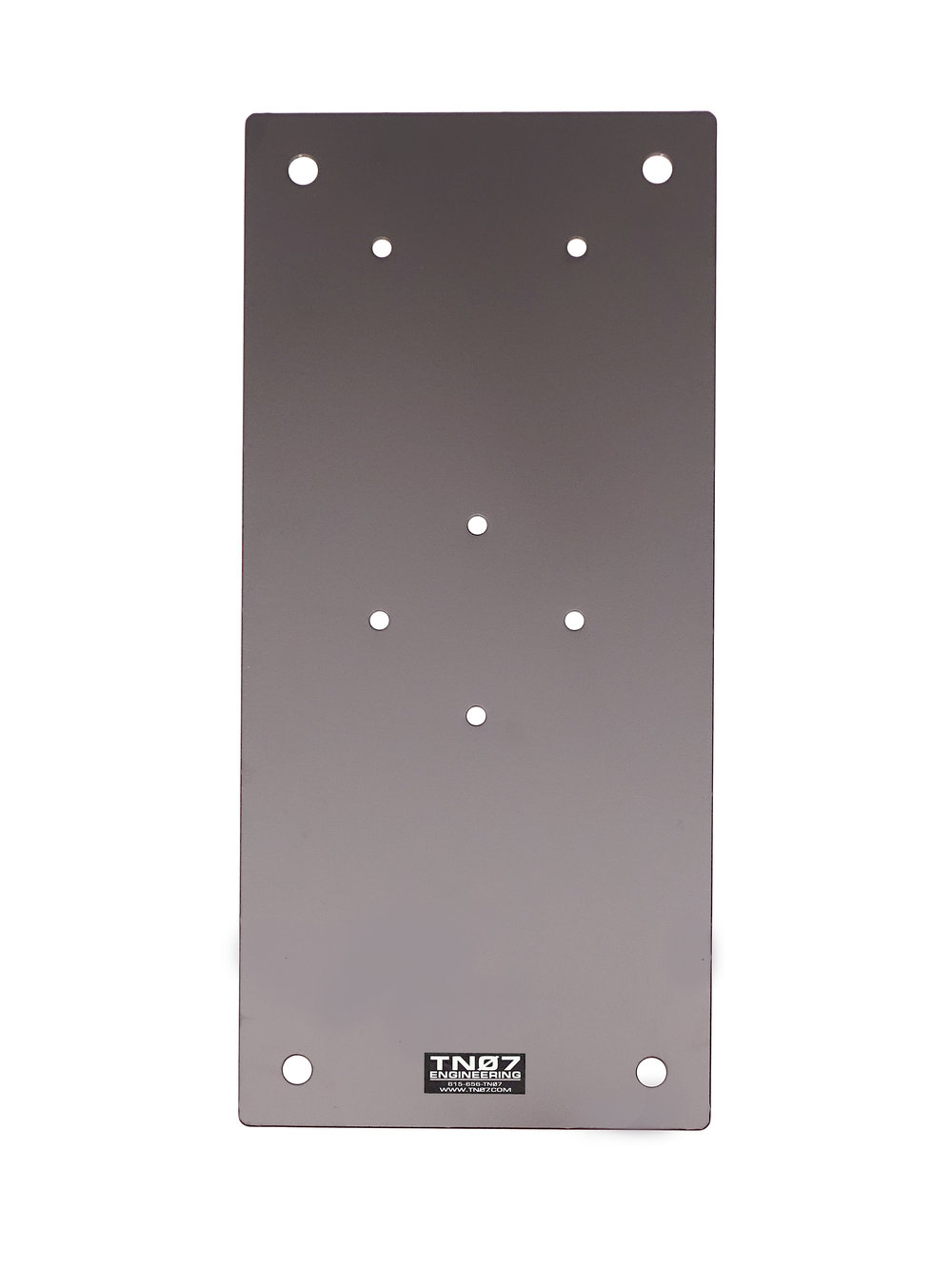 "Drive On/Ground Mount Plate-10""x22"""