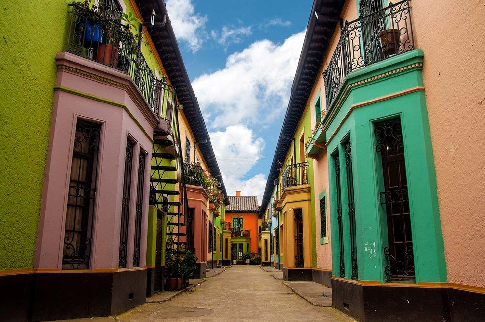 Streets of Bogota, Columbia