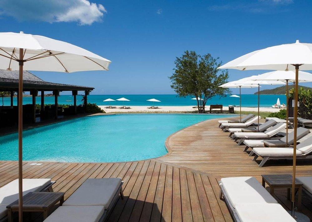 Pool at Hermitage Bay, Antigua