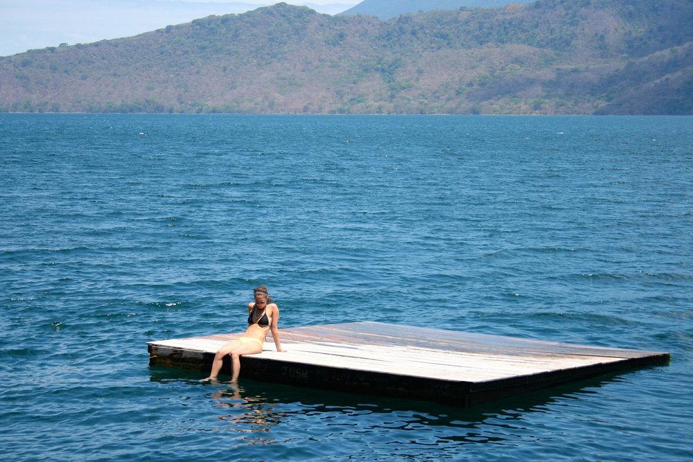 Laguna de Apoyo, Swimming in a Volcano