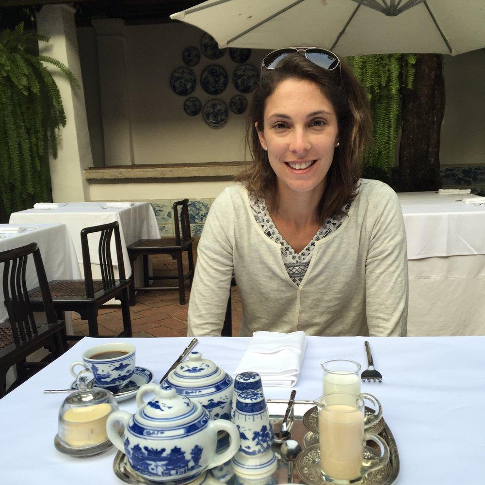 Hotel breakfast in Chiang Mai