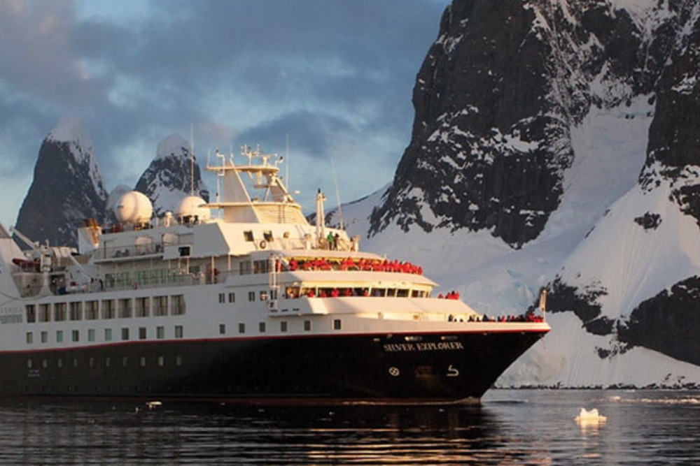 Silversea Expedition Ship