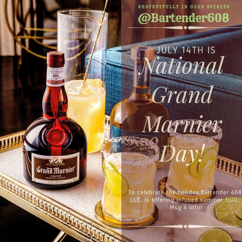 National Grand Marnier Day July 14th